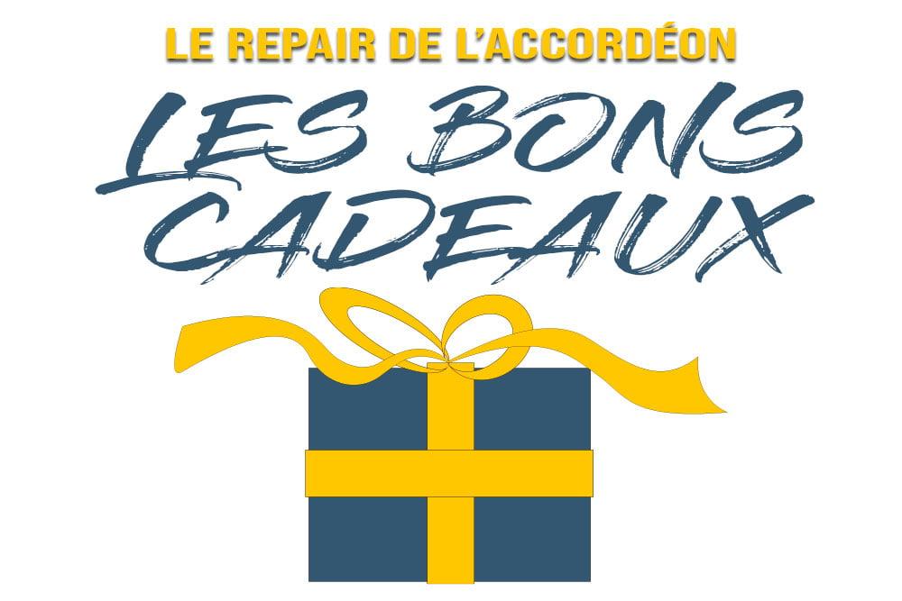 Les bons cadeaux - Le repair de l'accordéon