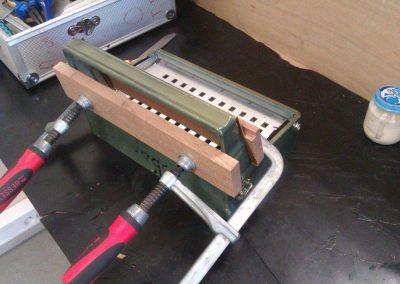 Réparation de la caisse main droite